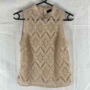 Wish Broderie Anglaise Blouse Top Size 6
